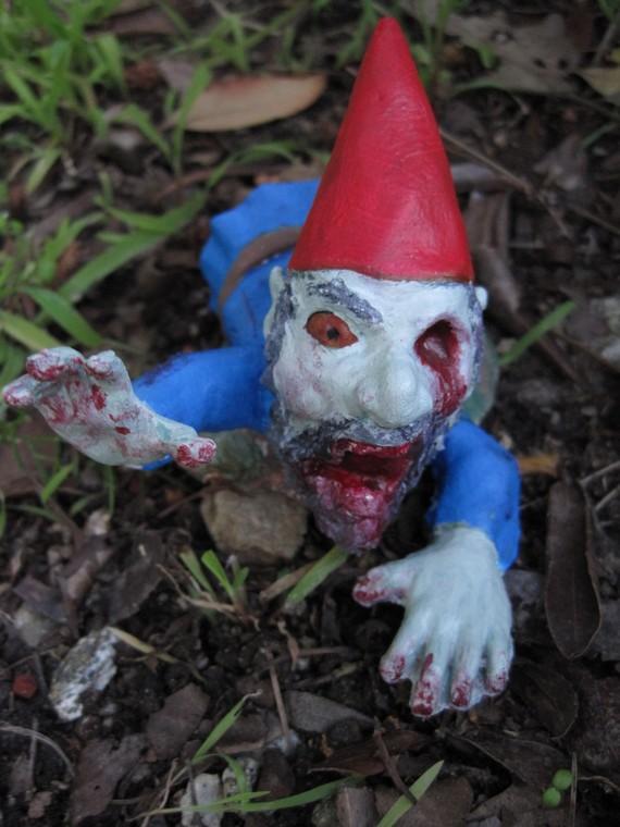 Garden Gnomes On Sale: Outside Perception