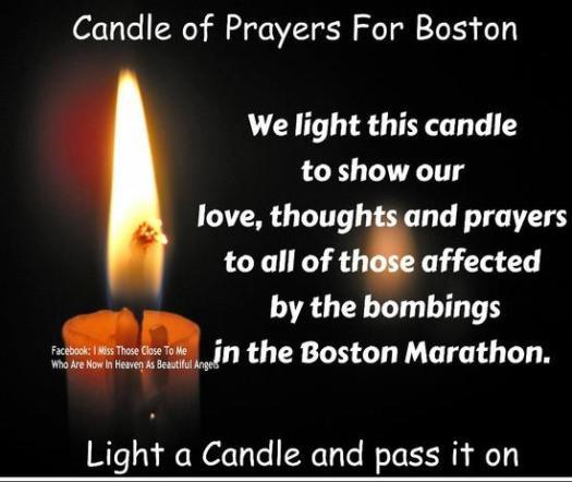 Boston Mombing Candle