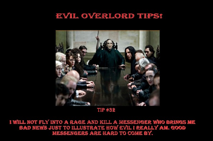Evil Overlord #32