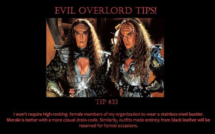 Evil Overlord 33